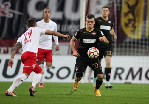 RB Leipzig – 1. FC Kaiserslautern am 03.11.2014, über dts Nachrichtenagentur