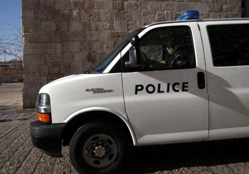 Israelische Polizei, über dts Nachrichtenagentur