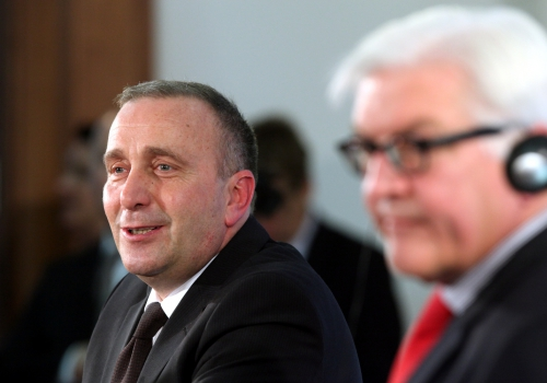 Frank-Walter Steinmeier und Grzegorz Schetyna am 19.11.2014, über dts Nachrichtenagentur