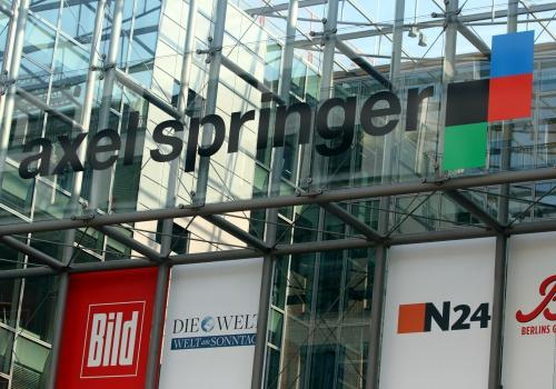Axel-Springer-Verlag, über dts Nachrichtenagentur