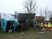 LKW Unfall Dornstadt B 10