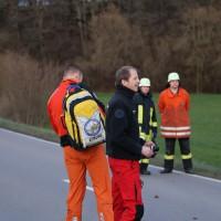 Gutenzell - Traktor gegen Pkw - ein Schwerverletzter wird ins Bundeswehrkrankenhaus geflogen