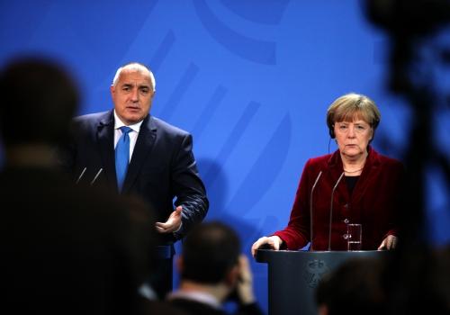 Bojko Borissow und Angela Merkel, über dts Nachrichtenagentur