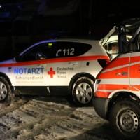 A9-Aichstetten - Reisegruppe auf der Heimreise erkrankt - Großeinsatz für das Rote Kreuz