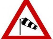Schild Sturmwarnung
