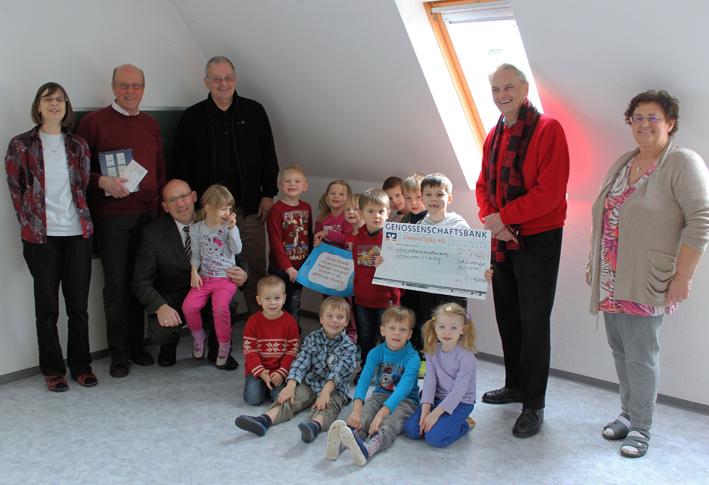 Spendenübergabe Waldweihnacht 2014