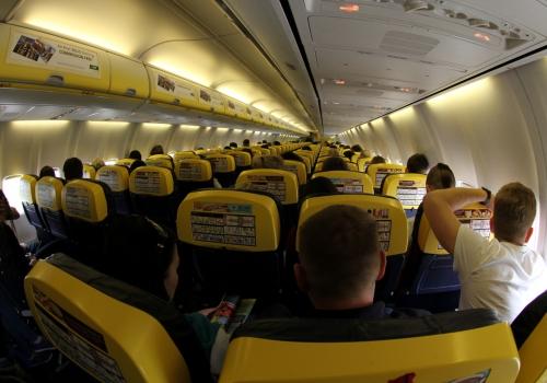 Passagiere in einer Ryanair-Maschine, über dts Nachrichtenagentur