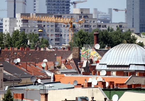 Dächer von Berlin-Kreuzberg, über dts Nachrichtenagentur