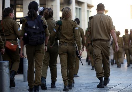 Israelische Soldatinnen, über dts Nachrichtenagentur