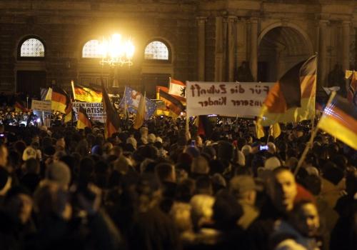 Pegida-Demo am 22.12.2014, über dts Nachrichtenagentur