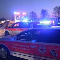 A7-Bad Grönenbach - Frontalzusammenstoß mit Geisterfahrer - zwei Verletzte - mehrere Fahrzeuge beschädigt