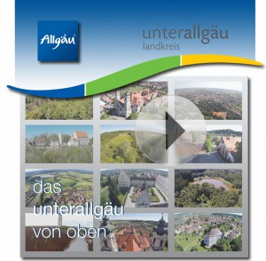 """""""Das Unterallgäu von oben"""" lautet der Titel eines neuen Films über den Landkreis. Bild: Filmbaar"""