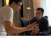 Foto von Edward Snowden und dem Rechtsanwalt und Journalisten Glenn Greenwald © BR/Praxis Films