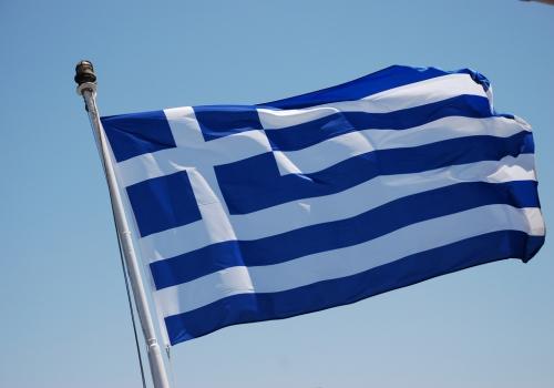 Flagge von Griechenland, Trine Juel, Lizenztext: dts-news.de/cc-by