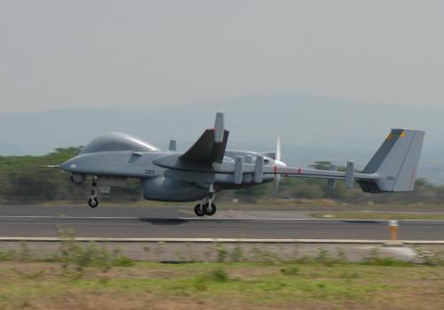 Drohne Heron, über dts Nachrichtenagentur