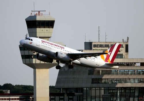 Germanwings startet in Berlin-Tegel, über dts Nachrichtenagentur