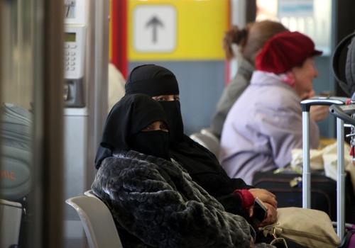 Vollverschleierte Frauen, über dts Nachrichtenagentur