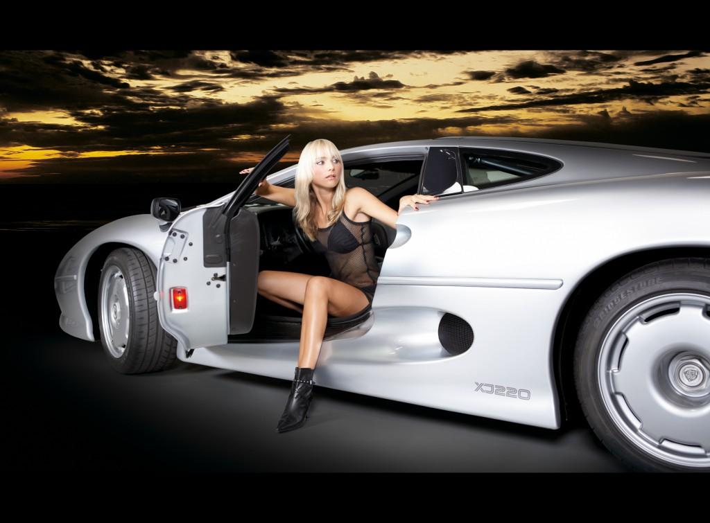 Kalendertitelmotiv 2007 - MISS TUNING Janina Kim Heider