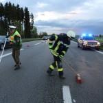 06.05.2015 A7 Hittistetten Unfall - Zwiebler