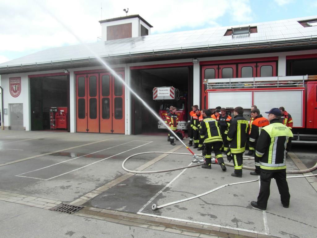 Maschinistenlehrgang Feuerwehr Ottobeuren 2