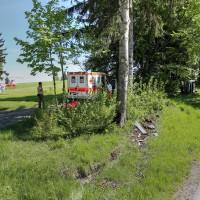 VU-Rpsshaupten-Halblech-OAL 1-Fahrerin-schwerverletzt-eingeklemmt-Autp deformiert-Feuerwehr-Rettungsdienst-Rettungshubschrauber-Ostallgäu-Bringezu (43)_tonemapped