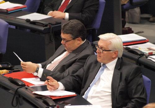 Sigmar Gabriel und Frank-Walter Steinmeier, über dts Nachrichtenagentur