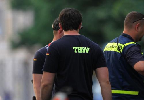 THW-Einsatzkräfte, über dts Nachrichtenagentur