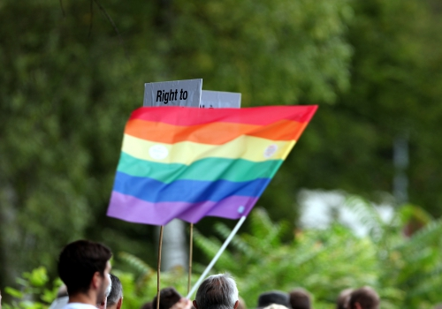 Regenbogen-Fahne, über dts Nachrichtenagentur