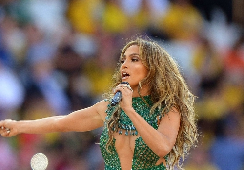 Jennifer Lopez bei WM-Eröffnungsfeier am 12.06.2014, Marcello Casal Jr./Agência Brasil, Lizenztext: dts-news.de/cc-by