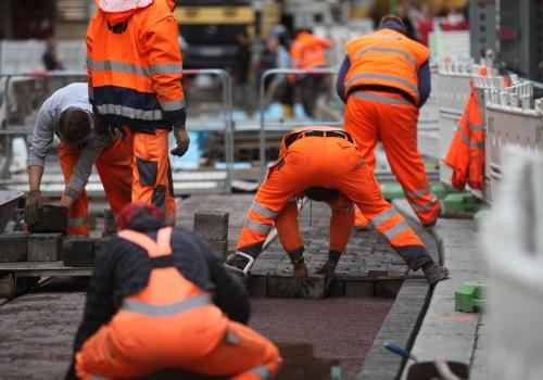 Bauarbeiter, über dts Nachrichtenagentur