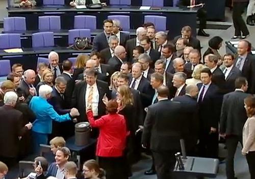 Abstimmung über Griechenland-Hilfen am 27.02.2015 im Bundestag, über dts Nachrichtenagentur