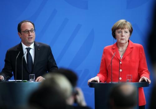 Hollande und Merkel am 19.05.2015, über dts Nachrichtenagentur