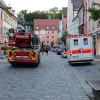 02.06.2015-Kaufbeuren-Brand-Altstadt-Wohnhaus-unbewohnbar-Großeinsatz-Feuerwehr-Rettungsdienst-mehrere Verletzte-New-facts (1)