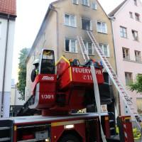 02.06.2015-Kaufbeuren-Brand-Altstadt-Wohnhaus-unbewohnbar-Großeinsatz-Feuerwehr-Rettungsdienst-mehrere Verletzte-New-facts (50)