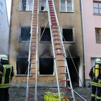 02.06.2015-Kaufbeuren-Brand-Altstadt-Wohnhaus-unbewohnbar-Großeinsatz-Feuerwehr-Rettungsdienst-mehrere Verletzte-New-facts (53)