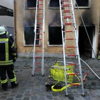 02.06.2015-Kaufbeuren-Brand-Altstadt-Wohnhaus-unbewohnbar-Großeinsatz-Feuerwehr-Rettungsdienst-mehrere Verletzte-New-facts (55)