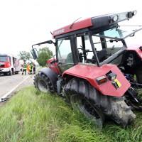 VU PKW/Traktor Kissendorf/Bühl