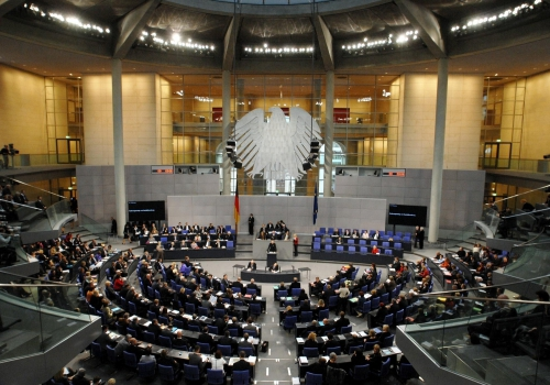 Plenarsaal im Reichstagsgebäude, Deutscher Bundestag / Lichtblick / Achim Melde,  Text: über dts Nachrichtenagentur