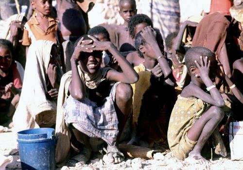 Hungernde Kinder in Somalia, über dts Nachrichtenagentur