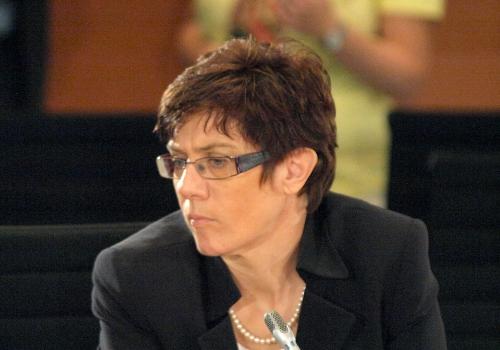 Annegret Kramp-Karrenbauer , über dts Nachrichtenagentur