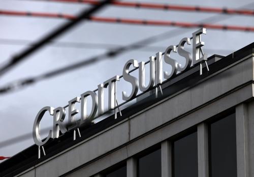 Logo der Credit Suisse, über dts Nachrichtenagentur