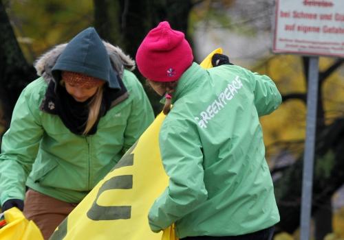 Greenpeace-Protest, über dts Nachrichtenagentur