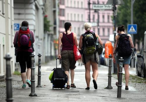 Touristen in Berlin-Kreuzberg, über dts Nachrichtenagentur
