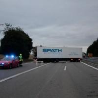 BY, A7 Vöhringen,LKW-Brand