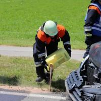 Frontallzusammenstoß-Biessenhofen-B16-11-07-2015-vier-Verletzte-Vollsperrung-Rettungswagen-Notarzt-Ostallgäu-Bringezu-Feuerwehr (15)
