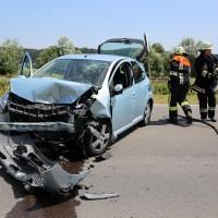 Frontallzusammenstoß-Biessenhofen-B16-11-07-2015-vier-Verletzte-Vollsperrung-Rettungswagen-Notarzt-Ostallgäu-Bringezu-Feuerwehr (9)