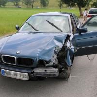 Unfall-Elbsee-Telefonmast-BMW-Seniorin-verletzt-kein Telefon-Mast-abgerissen-Rettungdienst-Hubschrauber-new-facts.eu-Thorsten-Bringezu-Aitrang (22)