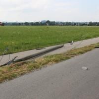 Unfall-Elbsee-Telefonmast-BMW-Seniorin-verletzt-kein Telefon-Mast-abgerissen-Rettungdienst-Hubschrauber-new-facts.eu-Thorsten-Bringezu-Aitrang (8)
