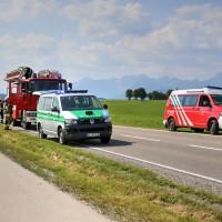 Unfall-St2008-Seeg-Legenwang-PKW-gegen-Traktor-4-Verletzte- Ostallgäu-Bringezu-Rettungshubschrauber (28)_tonemapped