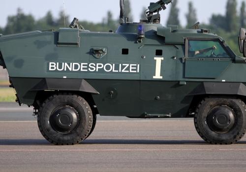 Panzer der Bundespolizei, über dts Nachrichtenagentur